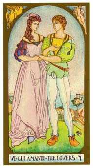 The Lovers Tarot Card - Renaissance Tarot Deck