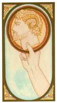 Ace of Pumpkins Tarot Card - Renaissance Tarot Deck