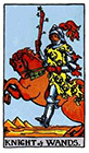 rider - Knight of Wands