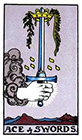 rider - Ace of Swords