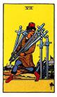 rider - Seven of Swords
