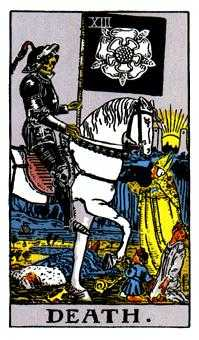 Death Tarot Card - Rider Waite Tarot Deck