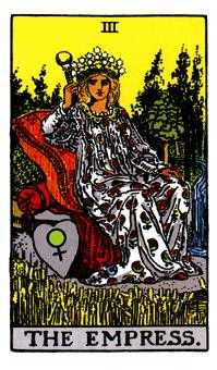 The Empress Tarot Card - Rider Waite Tarot Deck
