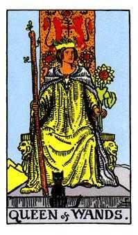 杖の女王のカード