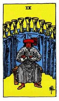 杯(カップ)の9のカード