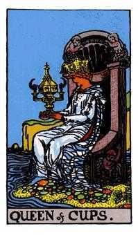 杯の女王のカード