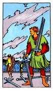 Five of Swords Tarot card in Rider Waite Tarot deck