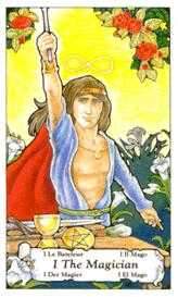 The Magus Tarot Card - Hanson Roberts Tarot Deck