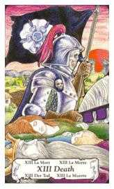 The Close Tarot Card - Hanson Roberts Tarot Deck