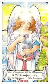 The Guide Tarot Card - Hanson Roberts Tarot Deck