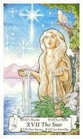 The Star Tarot Card - Hanson Roberts Tarot Deck