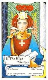 The High Priestess Tarot Card - Hanson Roberts Tarot Deck