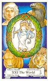 The World Tarot Card - Hanson Roberts Tarot Deck