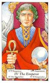 The Emperor Tarot Card - Hanson Roberts Tarot Deck