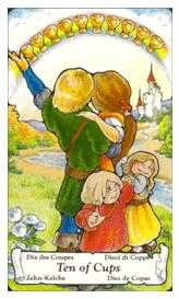 Ten of Cauldrons Tarot Card - Hanson Roberts Tarot Deck