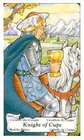 Knight of Ghosts Tarot Card - Hanson Roberts Tarot Deck