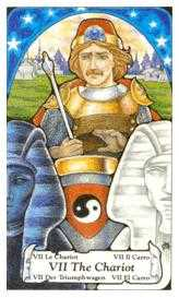 The Chariot Tarot Card - Hanson Roberts Tarot Deck