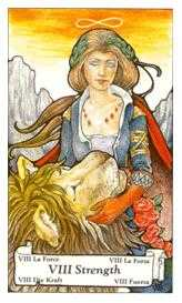 Strength Tarot Card - Hanson Roberts Tarot Deck