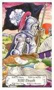 Death Tarot card in Hanson Roberts Tarot deck