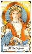 The Empress Tarot card in Hanson Roberts Tarot deck