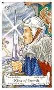 King of Swords Tarot card in Hanson Roberts Tarot deck