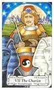 The Chariot Tarot card in Hanson Roberts Tarot deck