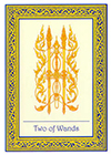 royal-thai - Two of Wands