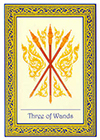 royal-thai - Three of Wands