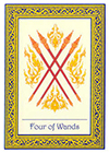 royal-thai - Four of Wands