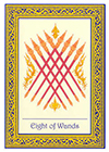 royal-thai - Eight of Wands