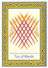 royal-thai - Ten of Wands