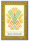 royal-thai - Seven of Swords