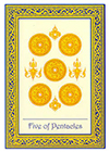 royal-thai - Five of Coins