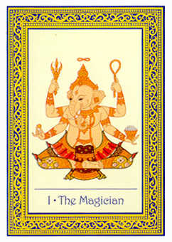 The Magician Tarot Card - Royal Thai Tarot Deck