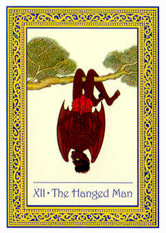 The Hanged Man Tarot Card - Royal Thai Tarot Deck