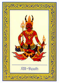 Death Tarot Card - Royal Thai Tarot Deck