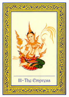 The Empress Tarot Card - Royal Thai Tarot Deck