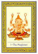 The Magician Tarot card in Royal Thai deck