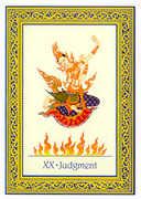 Judgement Tarot card in Royal Thai deck