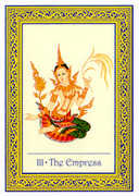 The Empress Tarot card in Royal Thai deck
