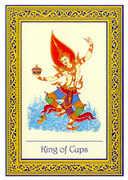 King of Cups Tarot card in Royal Thai deck