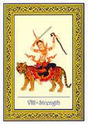 Strength Tarot card in Royal Thai deck