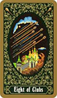 russian - Eight of Clubs