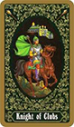 russian - Knight of Clubs