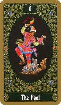 The Fool Tarot Card - Russian Tarot Deck