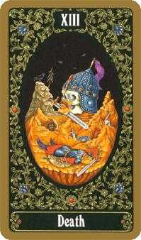 Death Tarot Card - Russian Tarot Deck