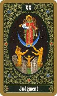 Judgment Tarot Card - Russian Tarot Deck