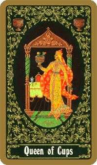 Reine of Cups Tarot Card - Russian Tarot Deck