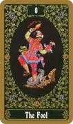 The Fool Tarot card in Russian Tarot deck