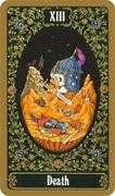 Death Tarot card in Russian Tarot deck